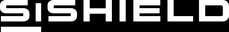 SiShield Logo White